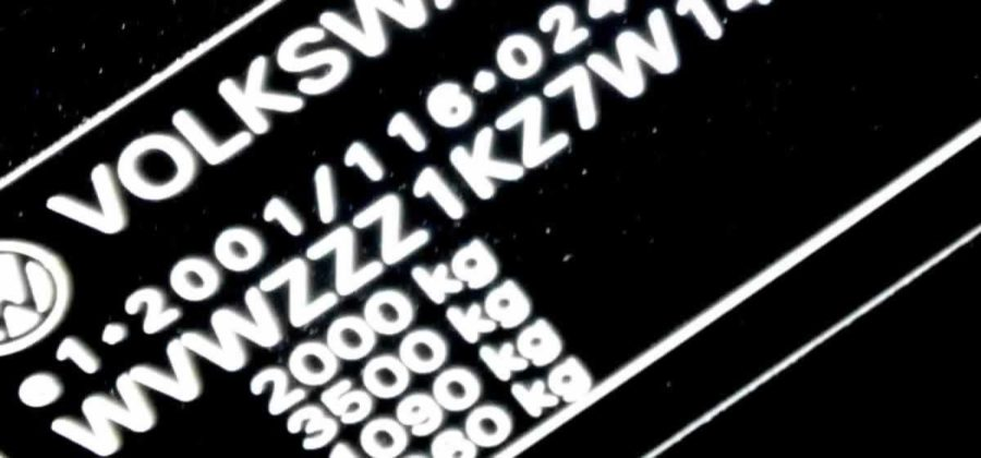 Posizione dei numeri di telaio autofil snc for Una planimetria della cabina del telaio