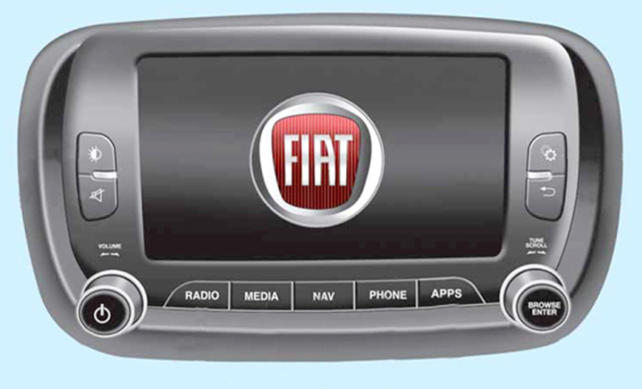 Fig. 9 - Fiat 500X - Radio-Nav VP4